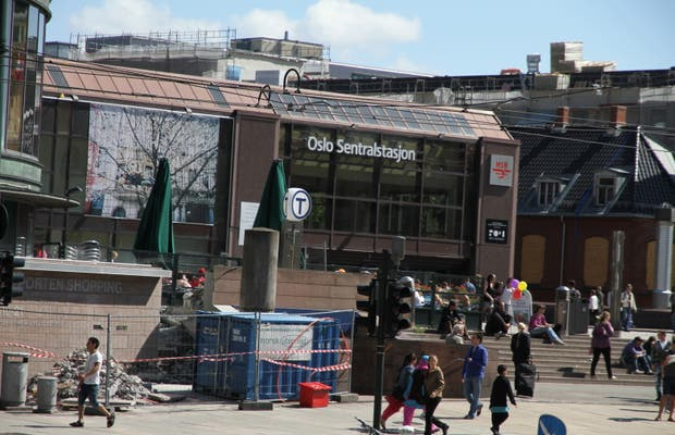 Estación Central de Oslo