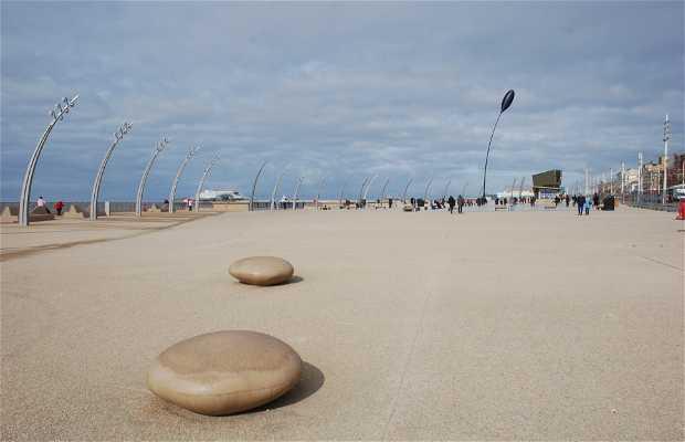 Paseo marítimo en Blackpool