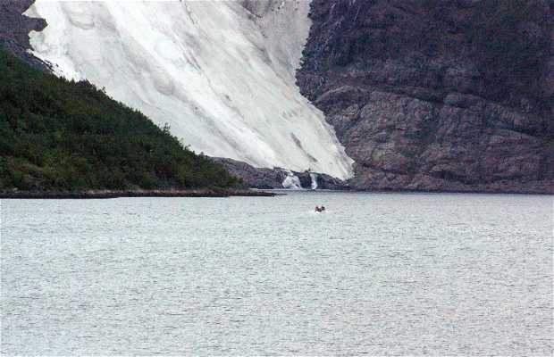 Glaciar Øksfjordjøkelen