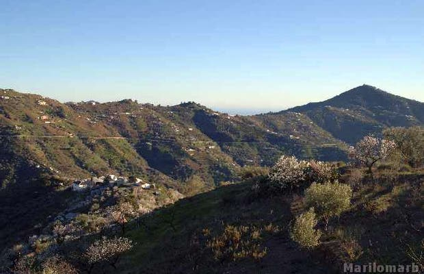Punto panoramico Corumbela a Sayalonga in Spagna