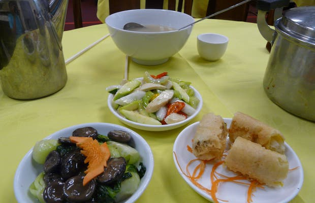 Po Lin Vegetarian Restaurant