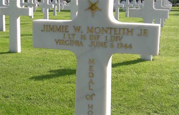 Cemitério e Memorial Americano da Normandia