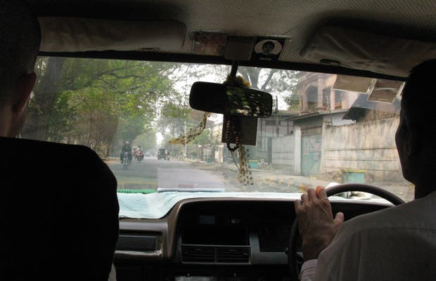 Taxi en Mandalay