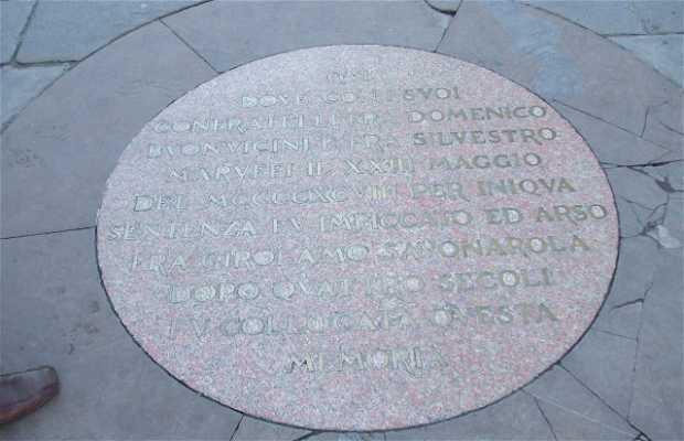 Lapide di Savonarola