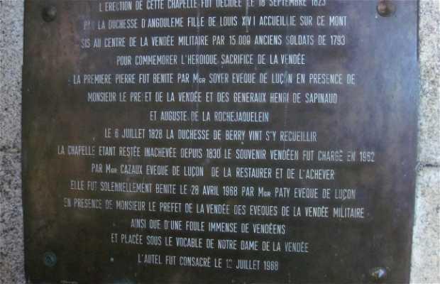 Capilla del Mont des Alouettes