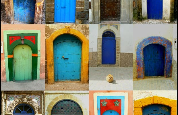 Doors in the Medina