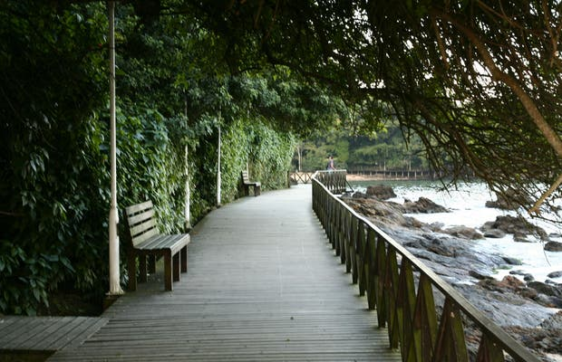 Deck of the Pontal Norte