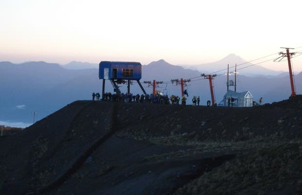 Telesilla del volcán Villarica