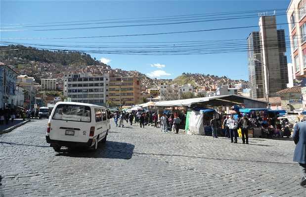 Marché de la place Alonso de Mendoza