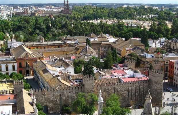 Casco viejo de Sevilla
