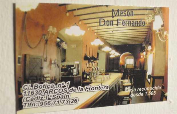 Restaurante Mesón Don Fernando