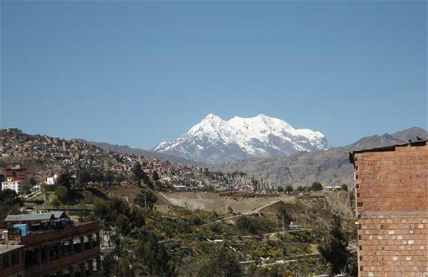 Vue depuis La Paz