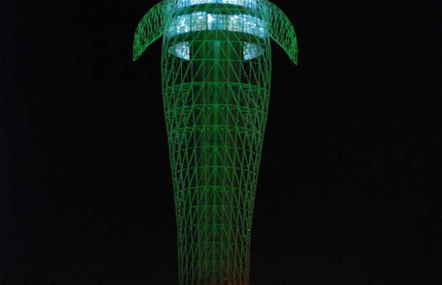 Torre metereológica de Jiayuguan
