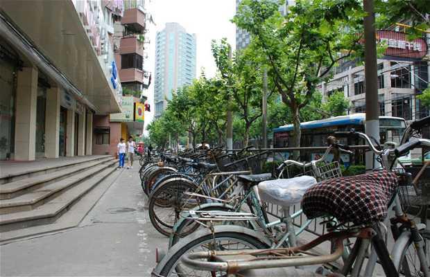 Bicicletas en Shanghai