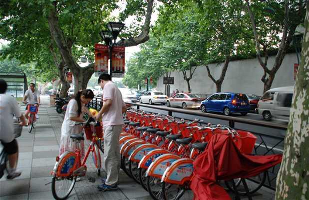 Location de vélo à Hangzhou