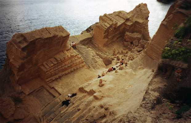 Cala Atlantis (Pedrera de Cala d'Hort)