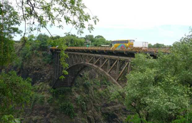 Pont de Zimbabwe à Zambie