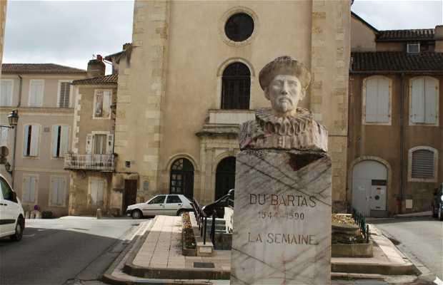 Statue Du Bartas