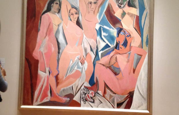 Les demoiselles d'avignon MOMA