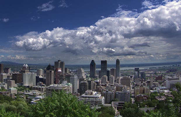 Vista do Mount Royal