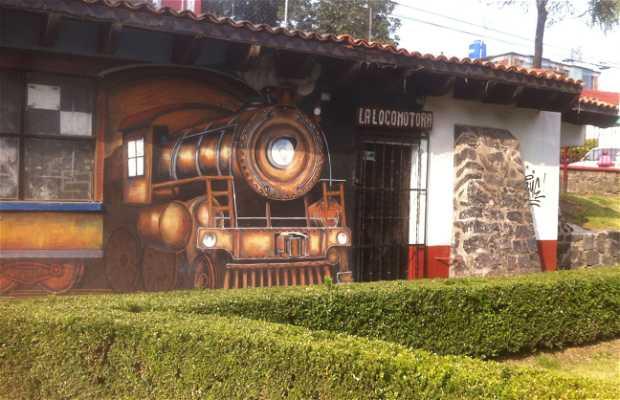 Mural Viaje del Siglo XX