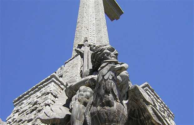 La croix del Valle de los Caidos