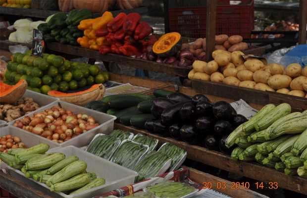 Mercado de frutas e verduras da Praça General Osório