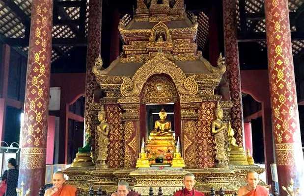 Templo budista em Chiang Mai