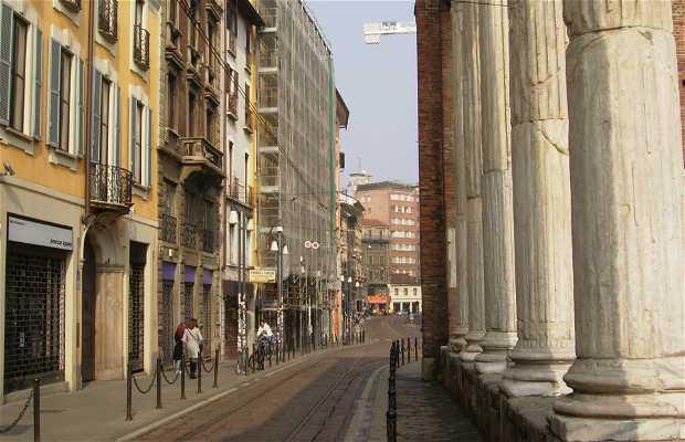 Columnas romanas de San Lorenzo