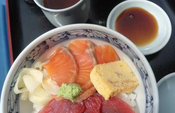 Les sashimis du Japon