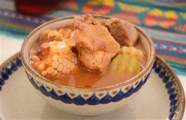 Muestra gastronómica de los Platillos de las Fiestas Patrias