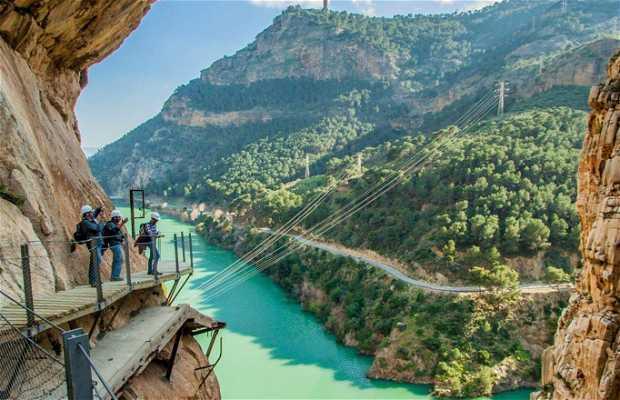 Caminito del Rey in Gaitanes Gorge