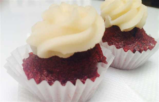 Polka Dots Cupcakes