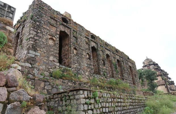 Recinto Elefantes en el Palacio de Raj Mandir