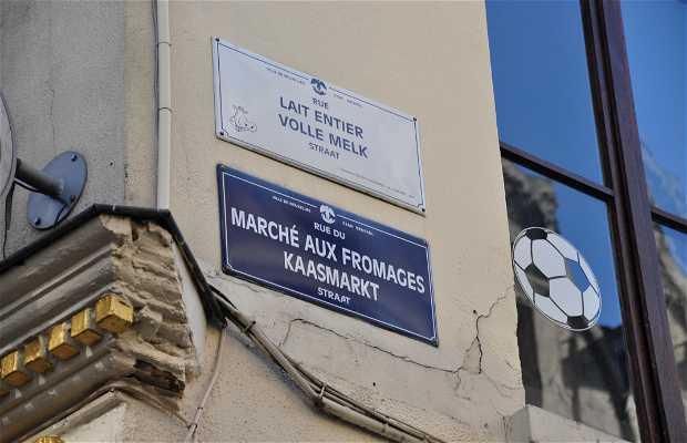 Rue de Marché aux Fromages