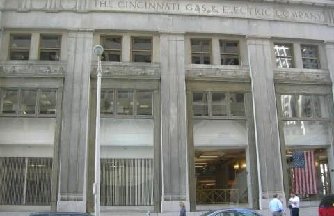 The electric company and Cincinnati Gas