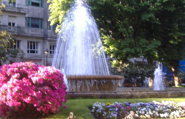 Jardines Plaza Compostela