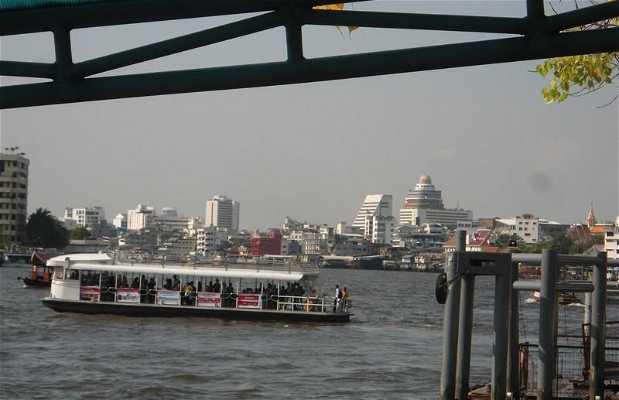 Les long-boat de Bangkok