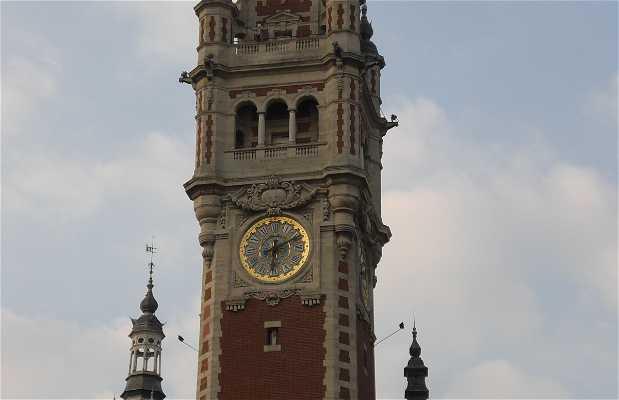 Piazza del teatro a Lille