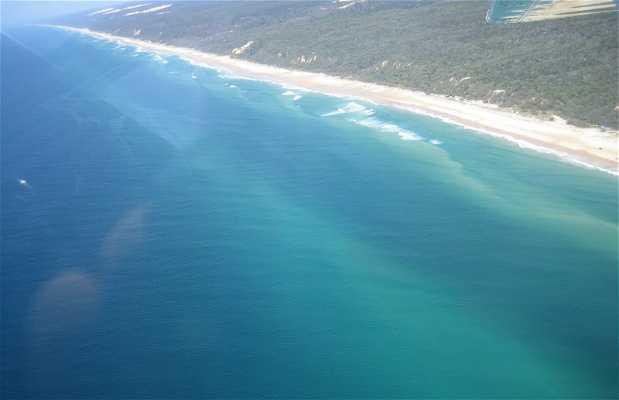 Sobrevoar Fraser Island