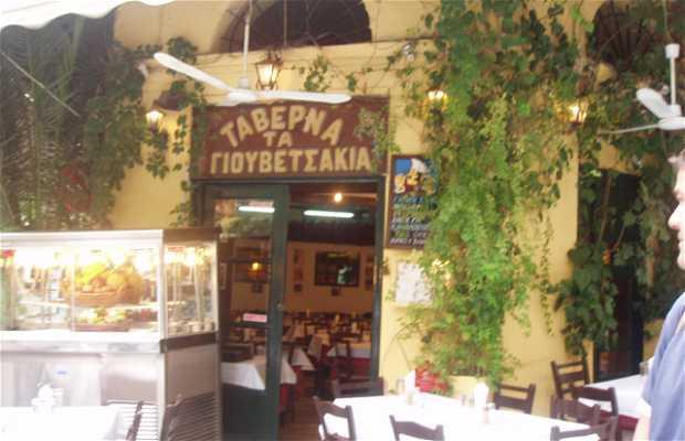 Tavernas de plaka