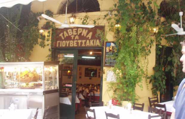 Tavernas in Plaka