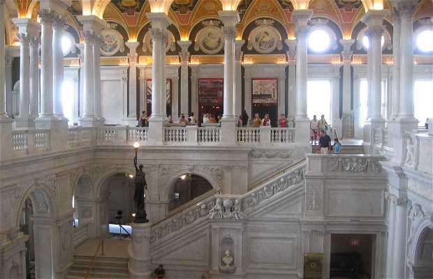 La biblioteca del Congresso a Washington