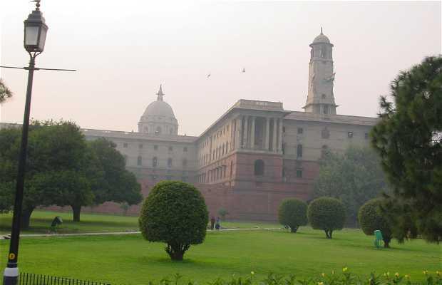 Palácio Presidencial Rashtrapati Bhawan