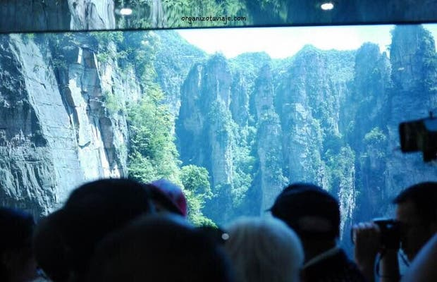 Bailong elevator, zhangjiajie national park
