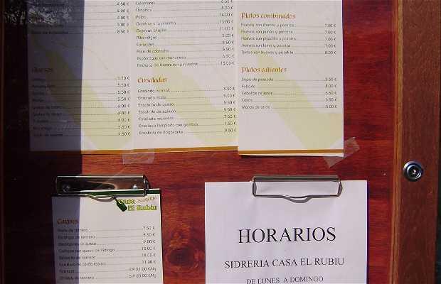 Casa El Rubiu Restaurant