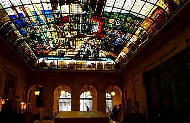 Sala de la vidriera (Casa de Juntas Gernika)