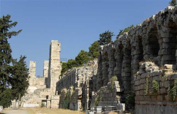 La Stoa di Eumenes a Atene