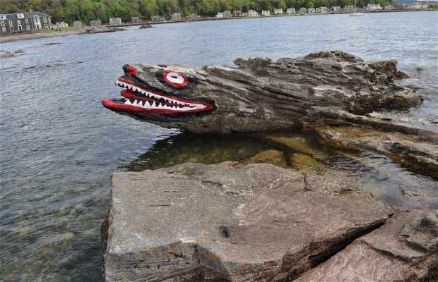 El dragón de la playa - Crocodile Rock