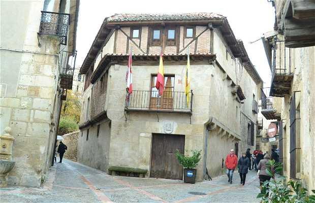 Casas de la calle Real pedraza